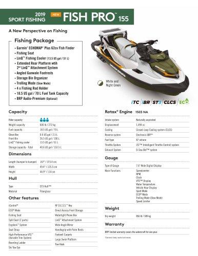 FISH PRO™ 155