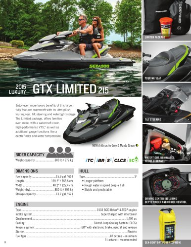GTX Limited 215