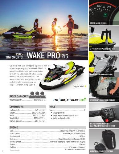 WAKE PRO 215