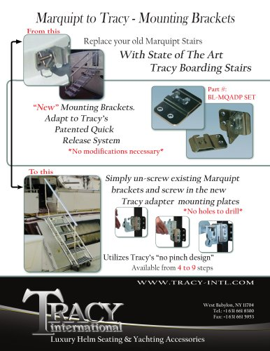 Marquipt to Tracy - Mounting Brackets