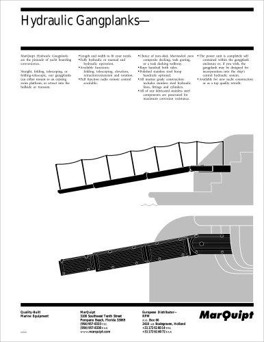 Hydraulic Gangplanks