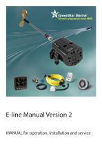 Greenstar E-line manual