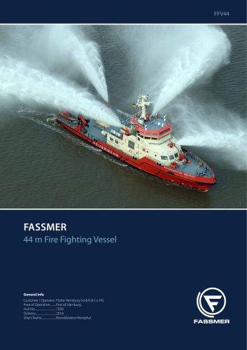 44 m Fire Fighting Vessel
