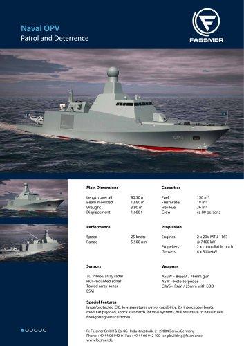 80m Naval OPV