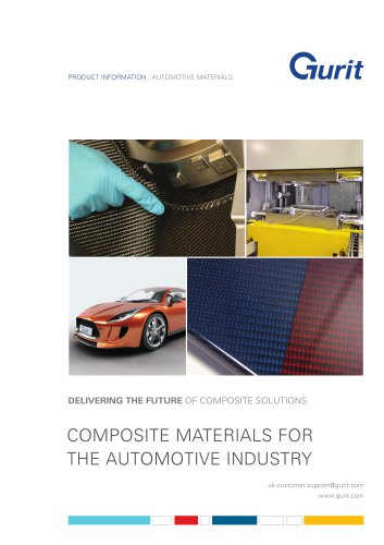 Composite Materials for the Automotive Industry Brochure (v11)