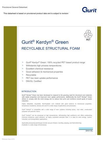 Gurit® Kerdyn® Green