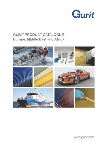 GURIT PRODUCT CATALOGUE 2016
