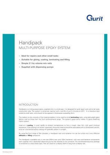 Handipack - Multi-purpose Epoxy System (v12)
