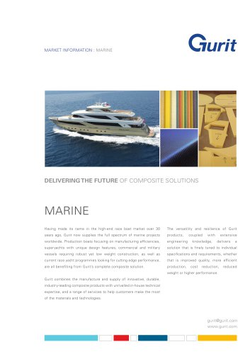 Marine Market Summary (v1)