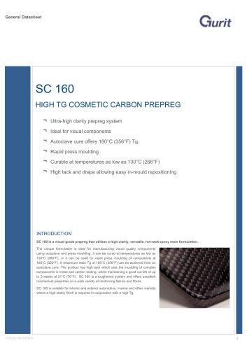 SC 160 - High Tg Cosmetic Carbon Prepreg (v10)
