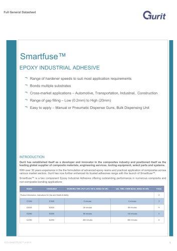 Smartfuse™ (v4) - Epoxy Industrial Adhesives