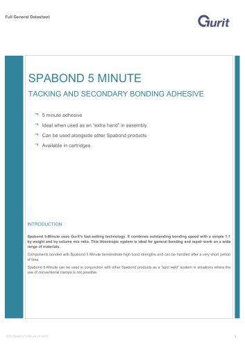 Spabond 5-Minute - Epoxy Adhesive System (v10)