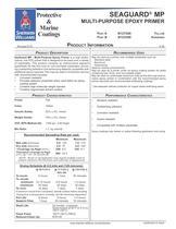 SEAGUARD® MP MULTI-PURPOSE EPOXY PRIMER