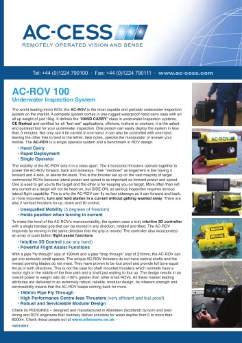 AC-ROV 100