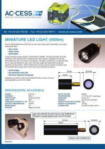 MINIATURE LED LIGHT