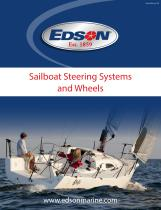 Edson K-37 Sailboat Steering Catalog Book