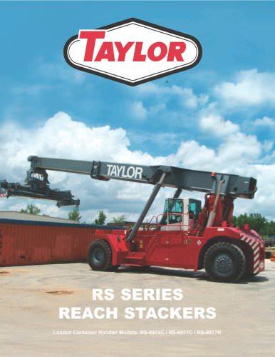 RS Series Reach Stacker