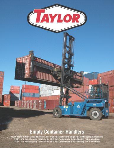 TECSP-155HD thru 157/8 Series Empty Container Handlers Brochure