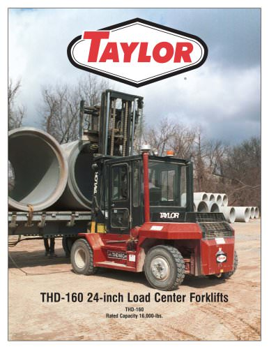 THD-160 24-inch L.C. Industrial Forklift