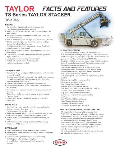TS-1068 Reach stackers PDF