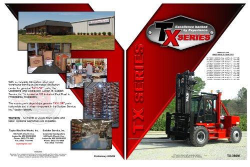TX Series 24-inch L.C. Brochure