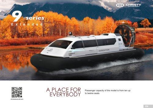 Hovercraft Christy 9W Seriеs