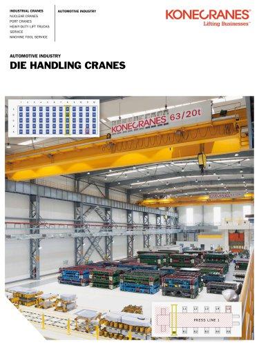 Automotive Industry Die Handling Cranes