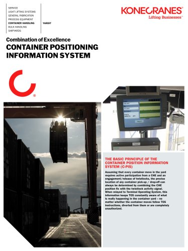 Container Positioning Information System