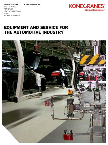 Equipment and Service for the Automotive industry