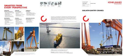 Goliath Gantry Cranes