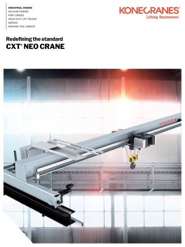 Konecranes CXT NEO crane 12.5 ton