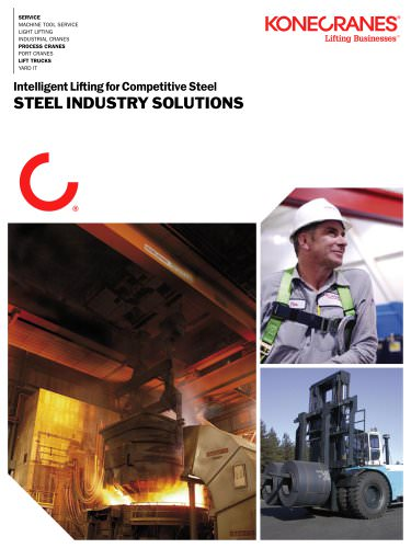 Steel Melt Shop Cranes