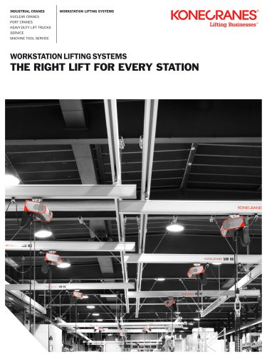 Workstation Lifting Systems. The Right Lift for Every Station