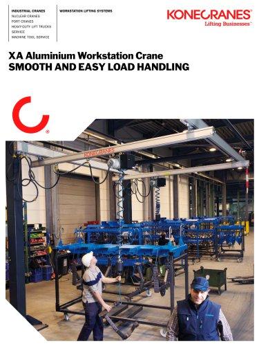 XA Aluminum Workstation Crane