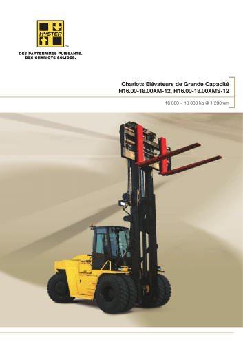 H16XMS-12/H18XM-12 - 16T - 18T FR