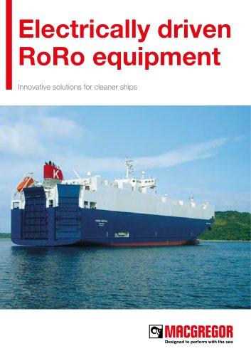 Electrically drivenRoRo equipment