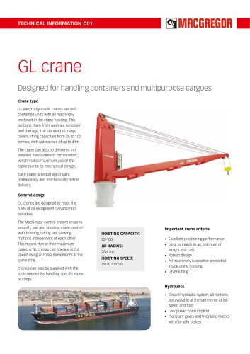 GL crane