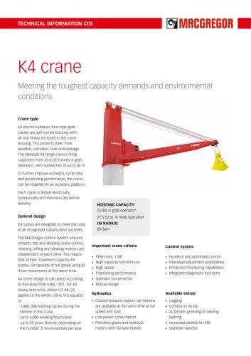 K4 crane