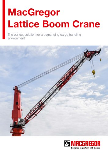 Lattice Boom Crane