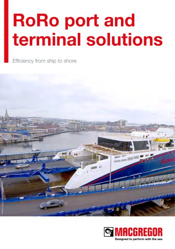 RoRo port and terminal solutions