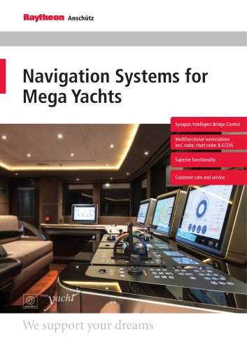 Integrated Navigation Systems for Mega Yachts