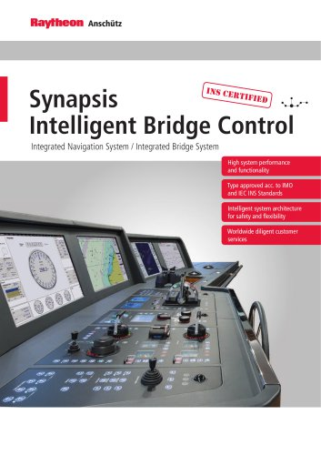 Synapsis Intelligent Bridge Control - Integrated Bridge and Navigation System (IBS/INS)