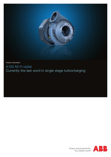 A100-M turbocharger