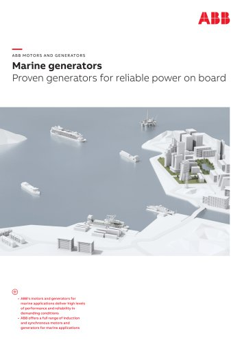 Marine generators - Proven generators for reliable power on board