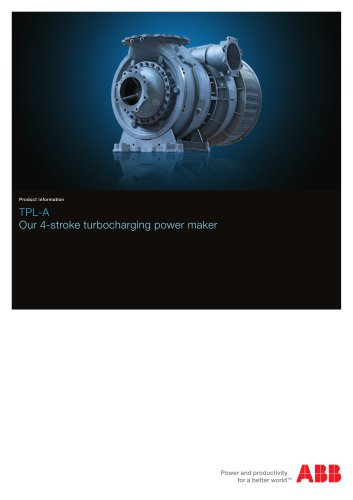 TPL-A turbocharger