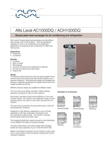Alfa Laval AC1000DQ / ACH1000DQ