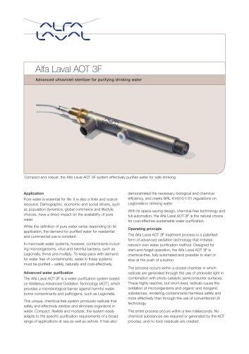 Alfa Laval AOT 3F