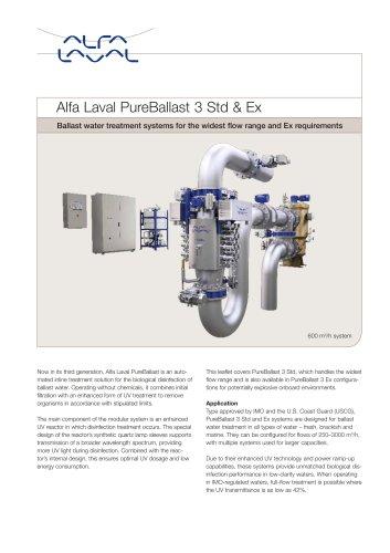 Alfa Laval PureBallast 3 Std & Ex