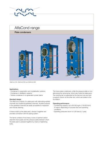 AlfaCond range