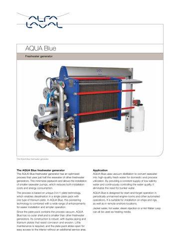 AQUA Blue Savings and fresh developments